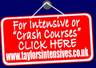 Intensive courses with Taylors Driving School